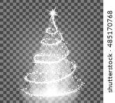 illumination lights shiny... | Shutterstock .eps vector #485170768