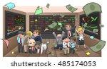 cartoon illustration of... | Shutterstock .eps vector #485174053