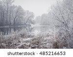 winter landscape | Shutterstock . vector #485216653