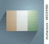 nice ireland flag | Shutterstock . vector #485255980