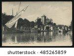 russia kaliningrad  19... | Shutterstock . vector #485265859