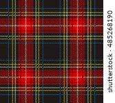 traditional tartan. seamless...   Shutterstock .eps vector #485268190
