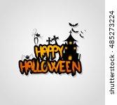 Halloween Vector Design With...