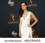 emmy rossum at the 68th annual... | Shutterstock . vector #485290450