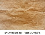baked paper with baking stain... | Shutterstock . vector #485309596