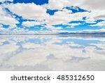symmetrical cloudy sky... | Shutterstock . vector #485312650