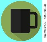 cup icon  minimal flat design...