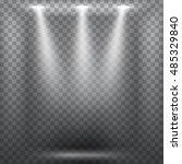 abstract spotlight effect on... | Shutterstock .eps vector #485329840