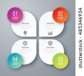 vector illustration of four... | Shutterstock .eps vector #485346934