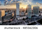 Warsaw City With Modern...