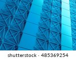 3d rendering abstract... | Shutterstock . vector #485369254