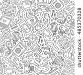 cartoon cute hand drawn...   Shutterstock .eps vector #485370328