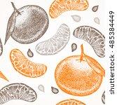 Mandarin Orange Fruit Citrus...