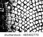 cobblestone paving texture | Shutterstock .eps vector #485402770