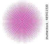 heart circle pattern  | Shutterstock .eps vector #485411530