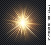 vector realistic starburst... | Shutterstock .eps vector #485462179