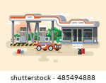 stock vector illustration of... | Shutterstock .eps vector #485494888