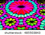 in iran blur colors from the... | Shutterstock . vector #485503843