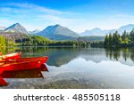 the picture captures the view... | Shutterstock . vector #485505118