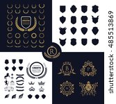 Luxury Crests Logo Design Set