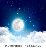 Night Nature Sky Background...