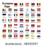 european country flags   Shutterstock .eps vector #48553597
