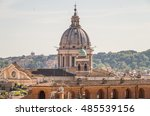 rome is full of many beautiful... | Shutterstock . vector #485539156