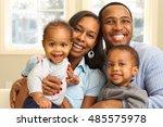 african american family | Shutterstock . vector #485575978