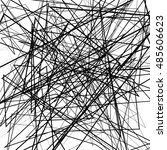 irregular  random chaotic lines.... | Shutterstock . vector #485606623