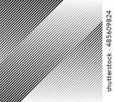 oblique  diagonal lines edgy... | Shutterstock . vector #485609824