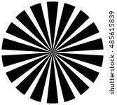 burst  beams  rays   starburst... | Shutterstock . vector #485615839