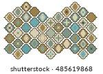 48 tiles  | Shutterstock .eps vector #485619868