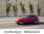 blurry automobile on the road | Shutterstock . vector #485626624