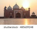 The Mosque Beside The Taj Maha...