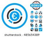 euro financial diagram icon... | Shutterstock . vector #485654389