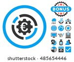 euro diagram options icon with... | Shutterstock . vector #485654446