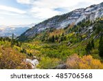 autumn in the mountains | Shutterstock . vector #485706568