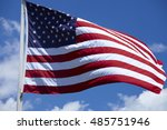 American Flag Of The U.s.a....