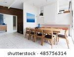 beautiful scandinavian style... | Shutterstock . vector #485756314