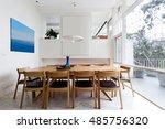 beautiful scandinavian style... | Shutterstock . vector #485756320