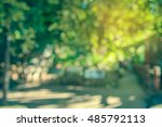 abstract blur image of empty... | Shutterstock . vector #485792113
