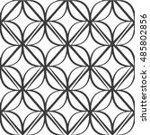 the geometric pattern. seamless ... | Shutterstock .eps vector #485802856
