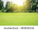 Green Lawn Blur And Soft Light