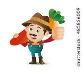 people set   profession  ... | Shutterstock .eps vector #485836009