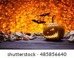 Pumpkin For Halloween  Lamp...