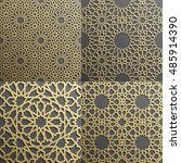 islamic pattern.seamless arabic ... | Shutterstock .eps vector #485914390