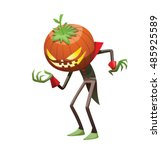 Vector Cartoon Image Of Jack O' ...