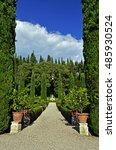 giardino giusti in verona | Shutterstock . vector #485930524
