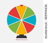 wheel of fortune  lucky icon. ...   Shutterstock . vector #485944636