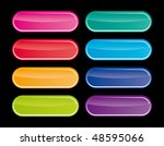 vector popular color buttons... | Shutterstock .eps vector #48595066